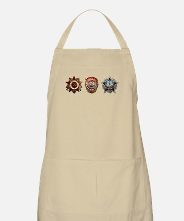 Military Soviet Union Decorations Medals T-s Apron