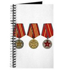 Soviet Union Medals T-shirt 2nd World War Journal