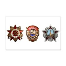 Military Soviet Union Decoratio Car Magnet 20 x 12