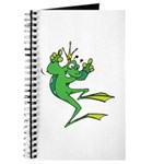 Silly Prince Frog Journal