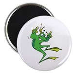 Silly Prince Frog Magnet