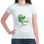 Silly Prince Frog Jr. Ringer T-Shirt