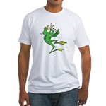 Silly Prince Frog Fitted T-Shirt