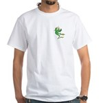 Silly Prince Frog White T-Shirt