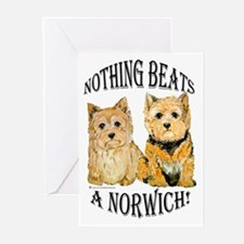 Nothing Beats a Norwich Terri Greeting Cards (Pk o