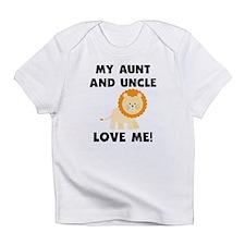 My Aunt And Uncle Love Me Lion Infant T-Shirt