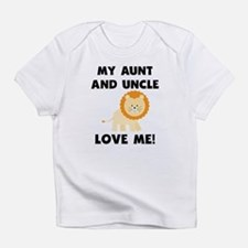 My Aunt And Uncle Love Me Lion Infant T-Shirt
