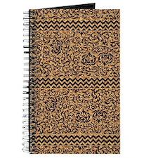 Golden Tudor Damask Journal
