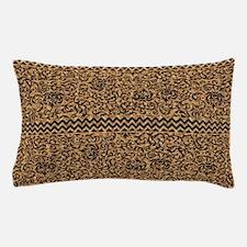 Golden Tudor Damask Pillow Case