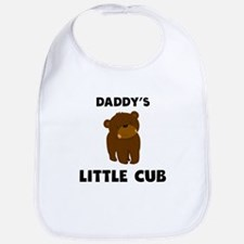 Daddys Little Cub Bib