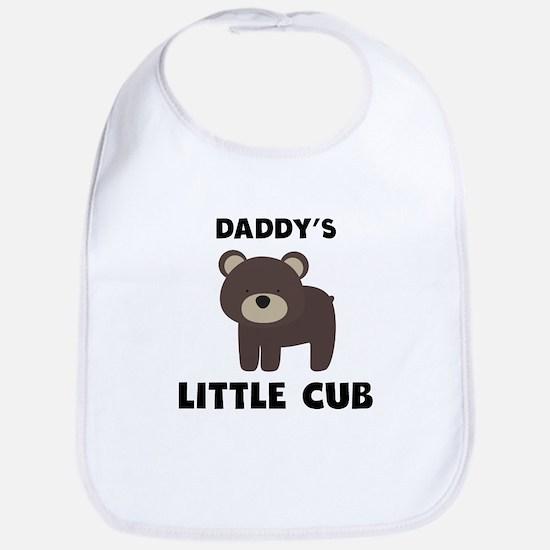 Daddys Little Cub Bib
