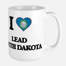 I love Lead South Dakota Mugs
