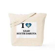 I love Lead South Dakota Tote Bag