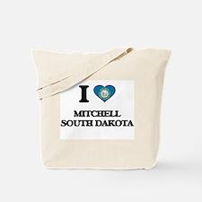 I love Mitchell South Dakota Tote Bag