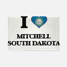 I love Mitchell South Dakota Magnets