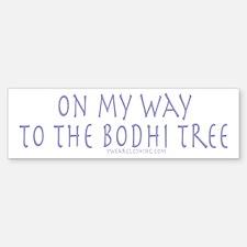 Bodhi Tree Bumper Bumper Bumper Sticker