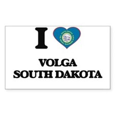 I love Volga South Dakota Decal