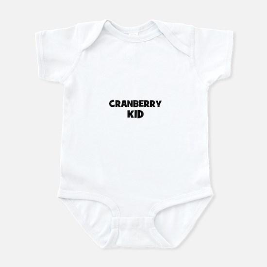 cranberry kid Infant Bodysuit