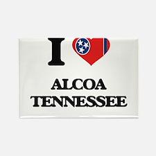 I love Alcoa Tennessee Magnets