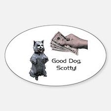Good Dog, Scotty! Decal