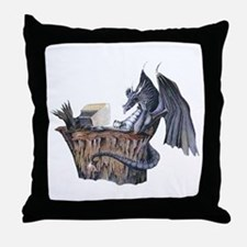 Computer Dragon Throw Pillow