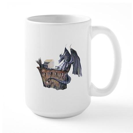 Computer Dragon Large Mug