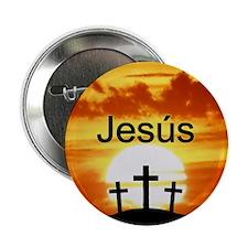 Spanish Jesus Button