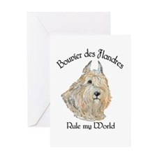 Bouvier des Flandres Wheaten Greeting Card