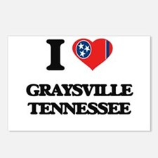 I love Graysville Tenness Postcards (Package of 8)