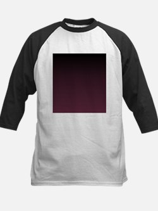 trendy burgundy ombre Baseball Jersey