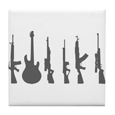 Weapon of Choice Tile Coaster