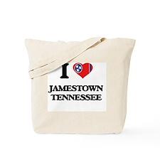 I love Jamestown Tennessee Tote Bag