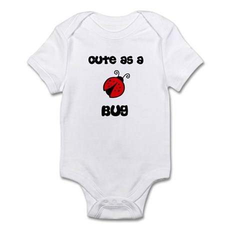 Cute As A Bug Ladybug Infant Bodysuit