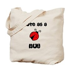 Cute As A Bug Ladybug Tote Bag