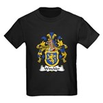 Winckler Family Crest Kids Dark T-Shirt