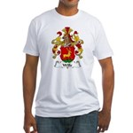 Wille Family Crest Fitted T-Shirt