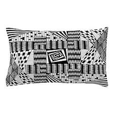 Black & White Weaving Pillow Case
