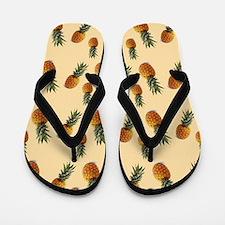 cute pineapple pattern Flip Flops