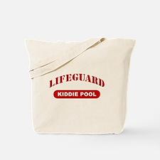 Lifeguard Kiddie Pool Tote Bag