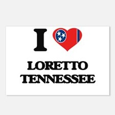 I love Loretto Tennessee Postcards (Package of 8)