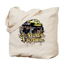 Regret Nothing Mud Truck Tote Bag