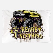 Regret Nothing Mud Truck Pillow Case