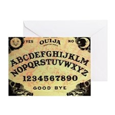 Ouija Greeting Card
