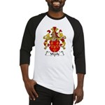 Werle Family Crest Baseball Jersey
