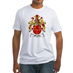 Werle Family Crest Fitted T-Shirt
