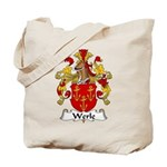 Werle Family Crest Tote Bag