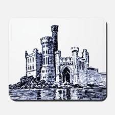 Castle Blue Mousepad