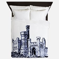Castle Blue Queen Duvet