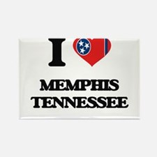 I love Memphis Tennessee Magnets