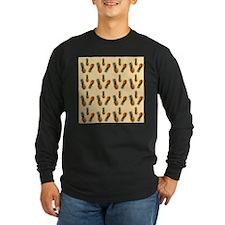 cute pineapple pattern Long Sleeve T-Shirt